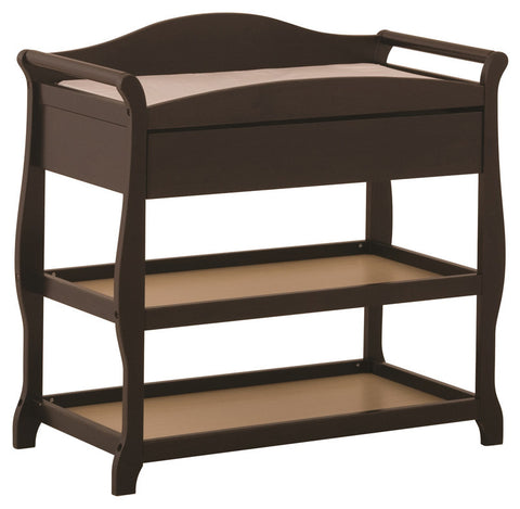 Storkcraft 00524-589 Aspen Changing Table-Espresso - Peazz Furniture