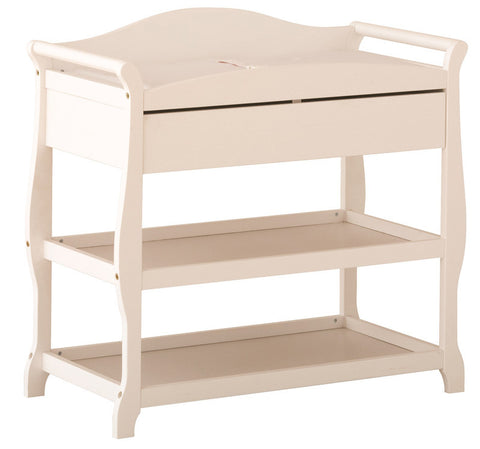 Storkcraft 00524-581 Aspen Infant Changing Table-White - Peazz Furniture