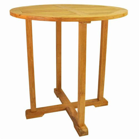 "Anderson Teak TB-039BT Bahama 39"" Round Bar Table - Peazz Furniture"