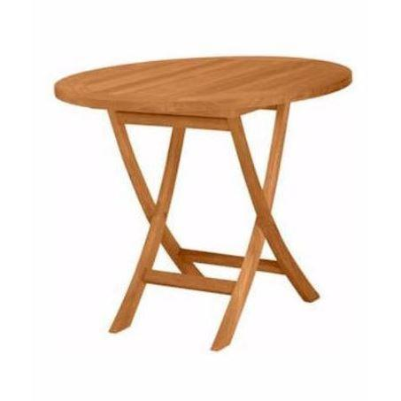 "Bayden Hill TBF-035R Bahama 35"" Round Bistro Folding Table - Peazz.com"