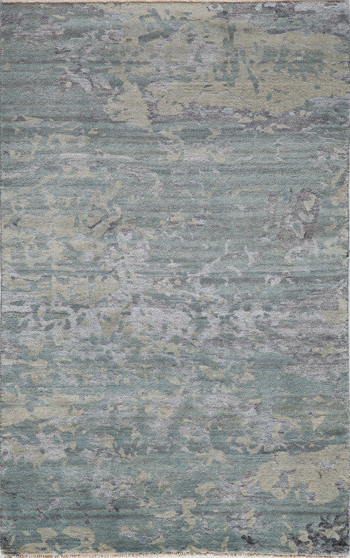 Hand Made Terra Collection Blue Rugs 14277 Product Photo