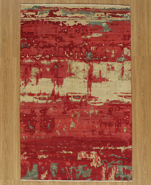 Hand Made Terra Collection Red Rugs 14277 Product Photo