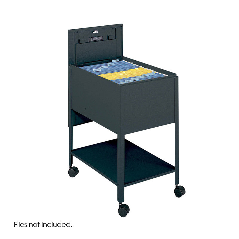 Safco 5363bl Extra Deep Mobile Tub File With Lock, Legal ...