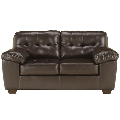 Flash Furniture FSD-2399LS-CHO-GG Signature Design by Ashley Alliston Loveseat in Chocolate DuraBlend - Peazz Furniture
