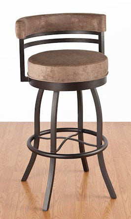 Americo Barstool w/ Back - Peazz Furniture