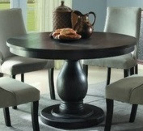 Homelegance 2466-48 Dandelion Collection Color Distressed Taupe (Round Dining Table only)