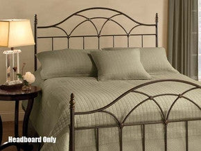 Hillsdale 1473HKR Aria Headboard King with Rails - HillsdaleSuperStore
