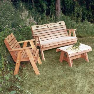 Creekwine Design WF4102CVD Cedar Country Hearts Furniture Collection - Peazz Furniture