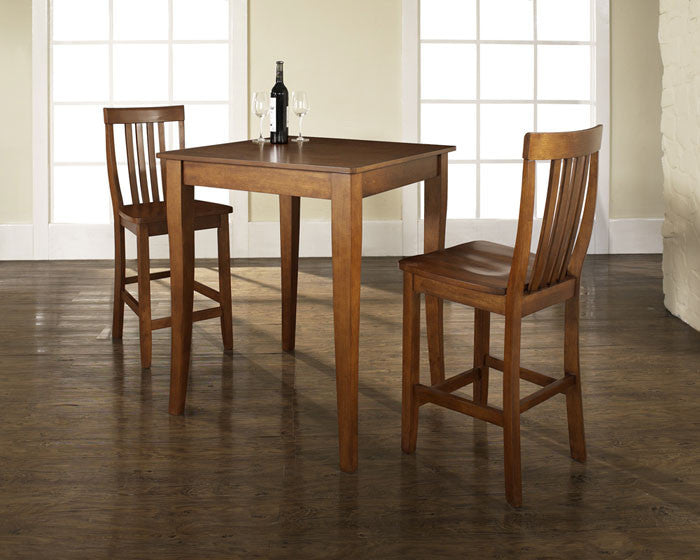 Crosley Furniture Kd320003ch 3 Piece Pub Dining Set With ...