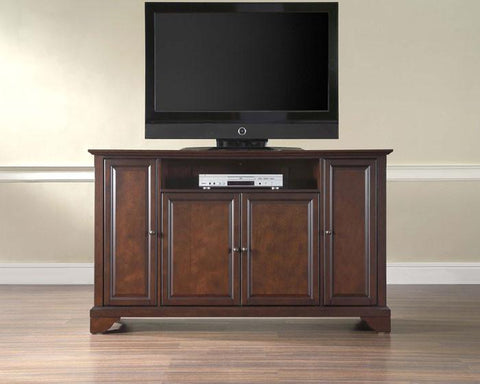"Bayden Hill KF10001BMA LaFayette 60"" TV Stand in Vintage Mahogany Finish - Peazz.com"