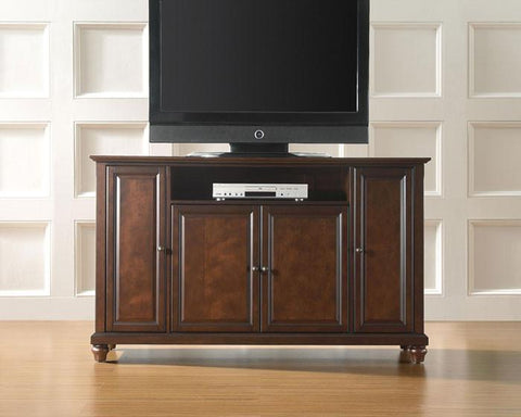 "Bayden Hill KF10001DMA Cambridge 60"" TV Stand in Vintage Mahogany Finish - Peazz.com"