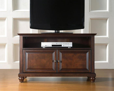"Bayden Hill KF10003DMA Cambridge 42"" TV Stand in Vintage Mahogany Finish - Peazz.com"