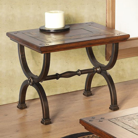 Alpine 425-02 End Table - Peazz Furniture