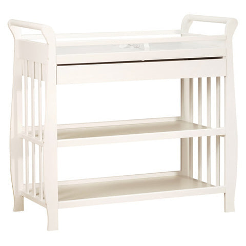 AFG Athena Nadia Changing Table in White 3353W - Peazz Furniture