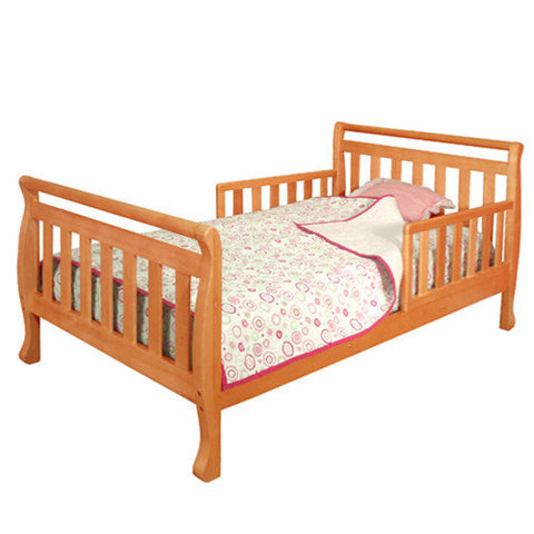 AFG Athena Anna Toddler Bed in Pecan  7008P - Peazz Furniture
