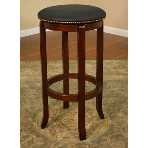 American Heritage Swivel Princess Bar Stool 30H (100682WA) - Peazz Furniture