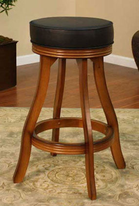 American Heritage Swivel Designer Bar Stool 30H (106606VO) - Peazz Furniture