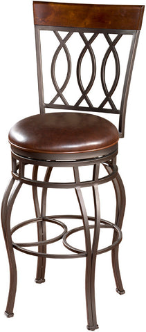 American Heritage Billiards 126714PP-L32.2 Traditional Counter Stool - Peazz Furniture