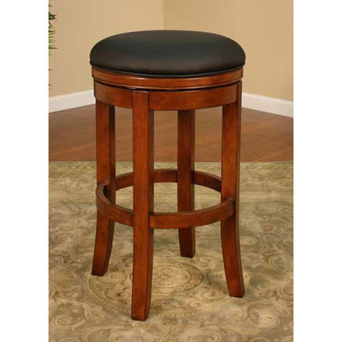 American Heritage Swivel Winston Counter Stool 26H (126774AM-L01) - Peazz Furniture