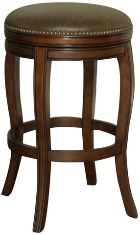 American Heritage Billiards 126891NAV Traditional Counter Stool - Peazz Furniture