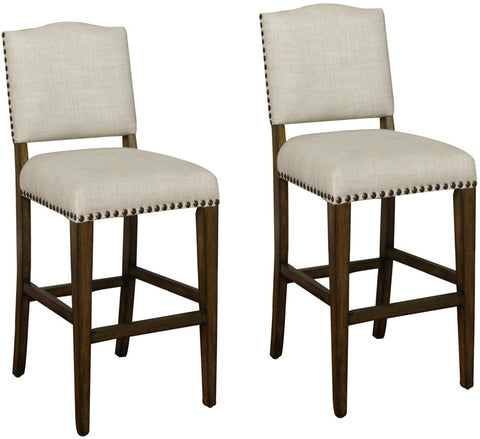 American Heritage Billiards 126896CG Transitional Counter Stool (Set of 2) - Peazz Furniture