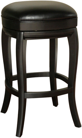 American Heritage Billiards 126903BLK-L50 Transitional Counter Stool - Peazz Furniture