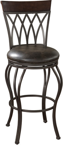 American Heritage Billiards 126915PP Transitional Counter Stool - Peazz Furniture