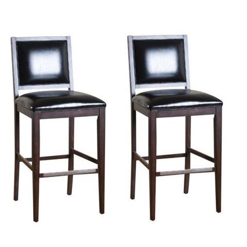 American Heritage Bryant Bar Stool 30H - Set of 2 130766ES-L15 - Peazz Furniture