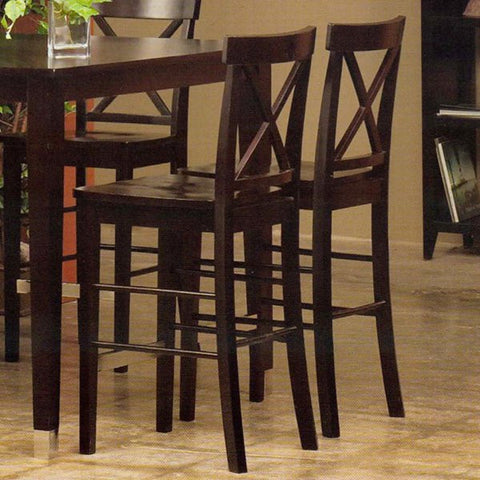 Alpine 2x173-02 Pub Chair Set Of 2 - Peazz Furniture