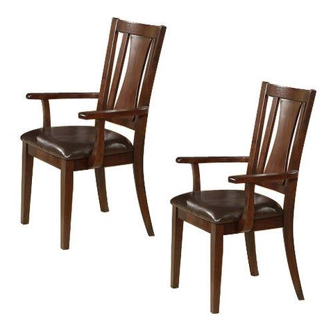 Alpine 2x637-23A Arm Chair Set Of 2 - Peazz Furniture