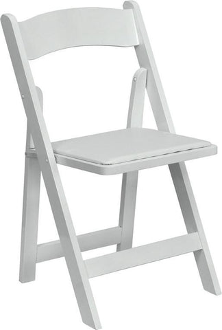 HERCULES Series White Wood Folding Chair with Vinyl Padded Seat XF-2901-WH-WOOD-GG by Flash Furniture - Peazz Furniture