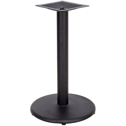 18'' Round Restaurant Table Base with 3'' Table Height Column XU-TR18-GG by Flash Furniture - Peazz Furniture