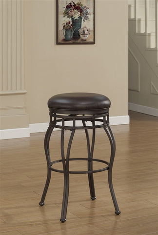 American Woodcrafters B1-102-26L Villa Backless Counter Stool - Peazz Furniture