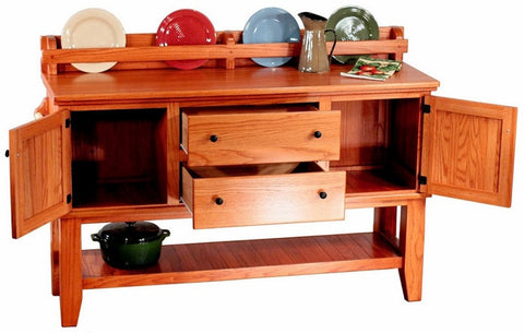Bradley Brand Furniture 3011 WA Lumberjack Buffet - Peazz Furniture