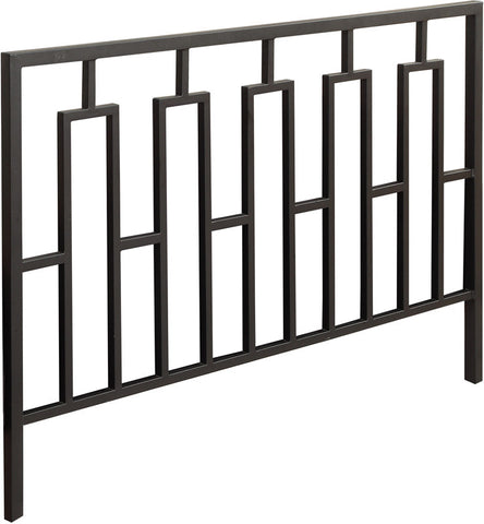 Monarch Specialties I 2616Q Satin Black Queen / Full Size Combo Head / Footboard Only - Peazz Furniture