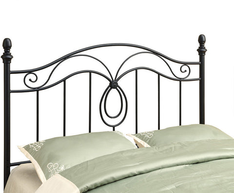 Monarch Specialties I 2622Q Black Queen / Full Size Combo Headboard Or Footboard Only - Peazz Furniture