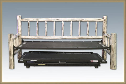 Montana Woodworks MWDBT Trundle Bed, Day Bed w/T. mech. Ready To Finish - Peazz.com