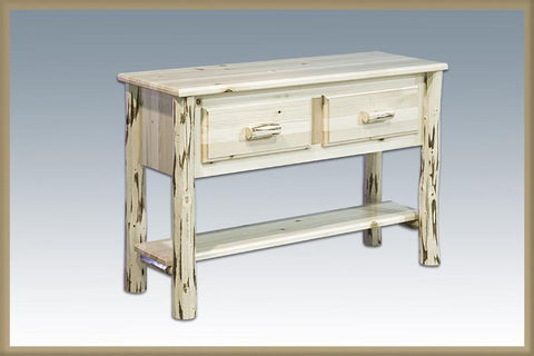Montana Woodworks MWET Table, Entry/Sofa Ready To Finish - Peazz.com