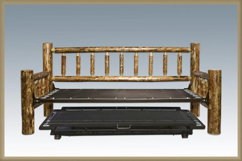 Montana Woodworks MWGCDBT Trundle Bed, Day Bed w/T. mech. Glacier Country - Peazz.com