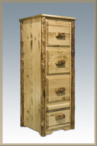 Montana Woodworks MWGCFC File Cabinet, 4-Drawers Glacier Country - Peazz.com
