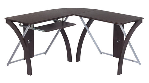 Office Star OSP Designs XT82L L-Shaped Computer Desk - Peazz Furniture