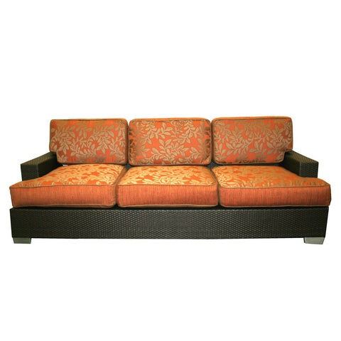 Patio Heaven SB-30 Wicker Sofa Patio Couch - Peazz Furniture