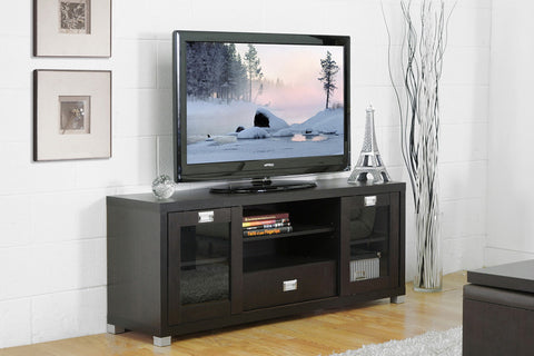 Wholesale Interiors FTV-886 Matlock Modern TV Stand with Glass Doors - Each - Peazz Furniture