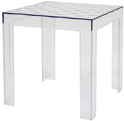Wholesale Interiors RT-637 Parq Clear Acrylic Modern End Table - Set of 2 - Peazz Furniture