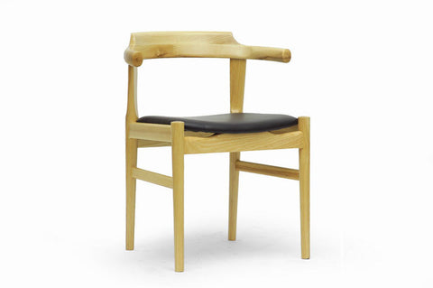 Wholesale Interiors WD-824B-Natural Lausch Modern Dining Chair - Set of 2 - Peazz Furniture