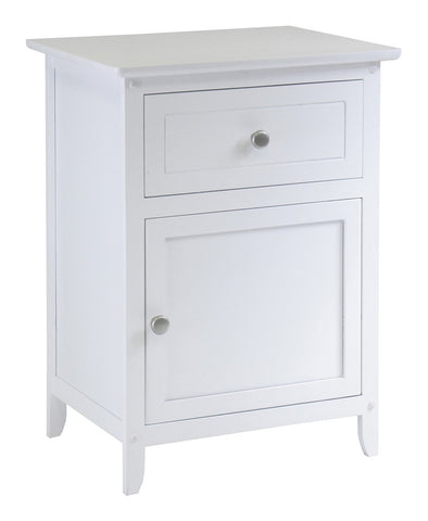 Winsome Wood 10115 Night Stand Accent Table with Drawer - Peazz Furniture