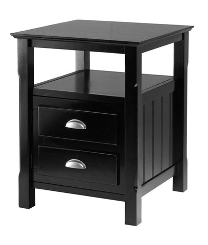 Winsome Wood 20920 Timber Night Stand - Peazz Furniture