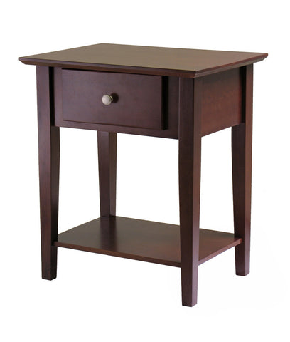 Winsome Wood 94922 Shaker Night Stand with Drawer - Peazz Furniture