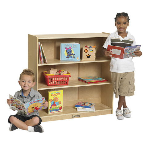 "ECR4Kids ELR-17100 36""H Classic Birch Bookcase - Peazz Furniture"