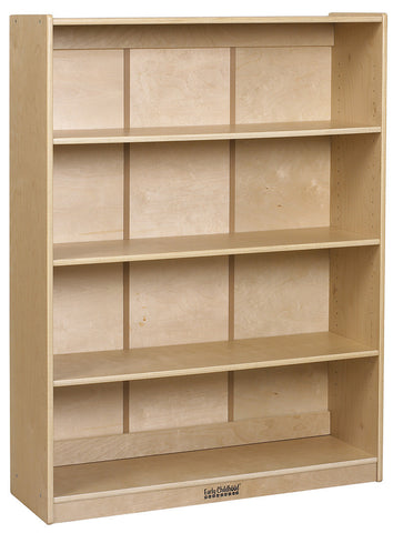 "ECR4Kids ELR-17101 48""H Classic Birch Bookcase - Peazz Furniture"